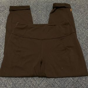Women's Lucy zipper Capri pants M